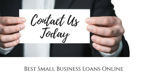 best small business loans contact us online